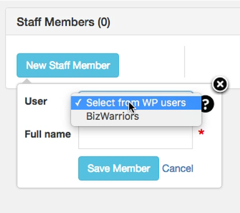 Bookly Plugin How to Add Staff Member