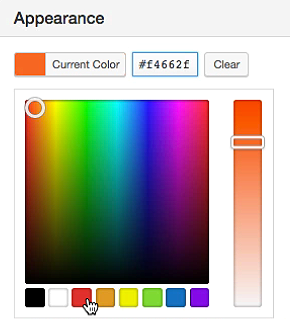 Bookly Plugin Change Appearance Color