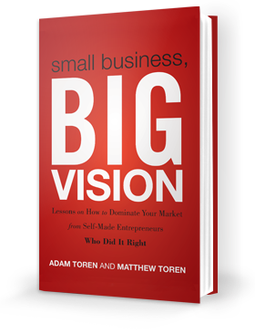 Small Business, BIG Vision Book Cover