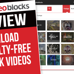 VIDEOBLOCKS Review – Download Royalty-Free Stock Videos, Backgrounds, and After Effects Templates