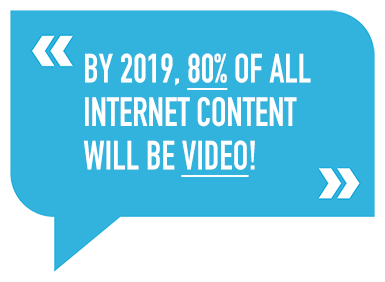 By 2019, 80% of the World's Internet Traffic